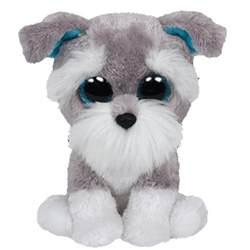 ty beanie boos whiskers schnauzer glitter medium size 9 bbtoystore toys