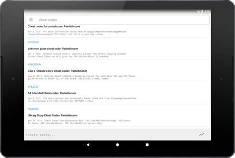 all pastebincom pastebin android apps on google play