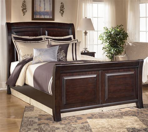 ashley furniture king bed signature design by ashley ridgley california king sleigh