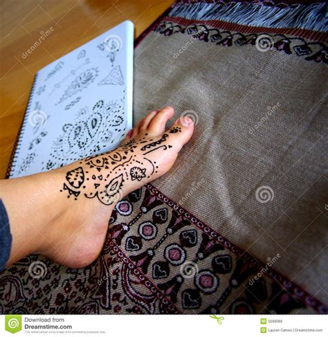 henna design application henna application designs royalty free stock images