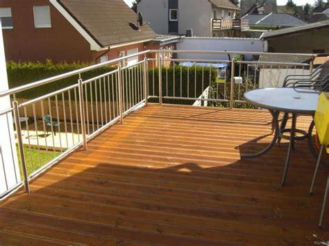 terrassengeländer edelstahl metall stahlbau kronenberg edelstahlgel 228 nder