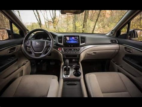 2018 honda pilot interior design youtube