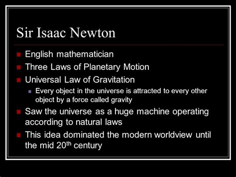 isaac newton biography three laws motion revolution enlightenment ppt download