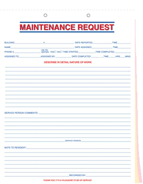 maintenance request form template maintenance request related keywords suggestions