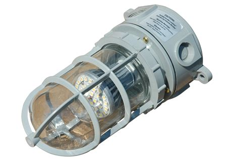 explosion proof led light fixtures magnalight com announces addition of explosion proof led