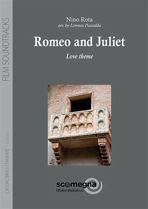 theme songs for romeo and juliet characters romeo and juliet sheet music by nino rota sku s4 esb1144