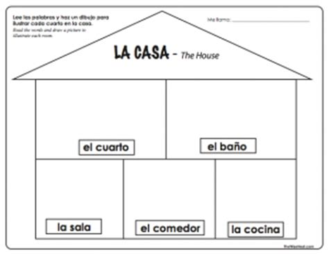 parts of the house in spanish la casa the house the wise nest