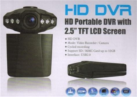 Terbaru Hd Portable Dvr With 2 5 Tft Lcd Screen hd portable dvr with 2 5 quot tft lcd screen car recorder new sealed wholesaleoutletllc in the