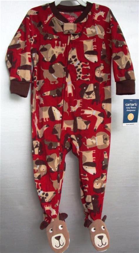 Blanket Sleepers by Carters Toddler Fleece Puppy Blanket Sleeper Ebay