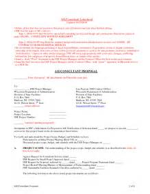 bid proposal template example masir