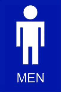 Mens Bathroom Sign Amandapanda Men S Restroom