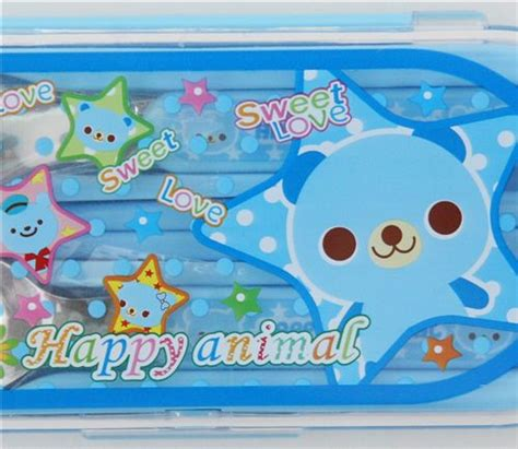 amazing kitchen decor with cute cutlery set for small blue bento cutlery set kawaii bear posate bento boxes