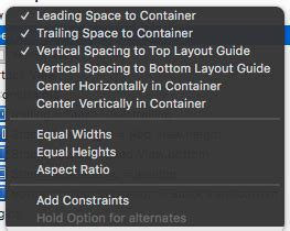 top layout guide constraint interface builder tip for margin constraints