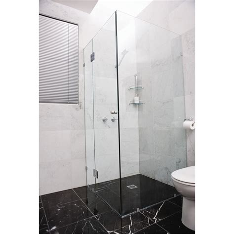 bathroom wall panels bunnings highgrove 10 x 2000 x 875mm frameless glass shower panel