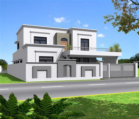 3d Front Elevation Com Pakistan | 3d front elevation com india pakistan house design 3d