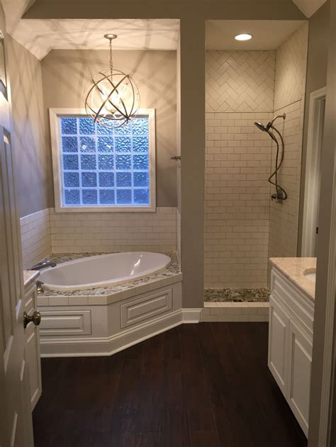 bathroom with shower and bath best 25 corner tub ideas on corner bathtub