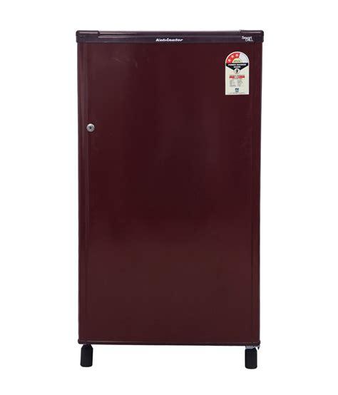 buy door refrigerator kelvinator 150 ltr kw163ebr single door refrigerator