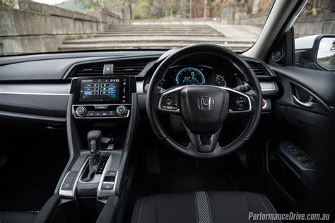 honda civic 2016 interior 2016 honda civic vti s sedan review video performancedrive