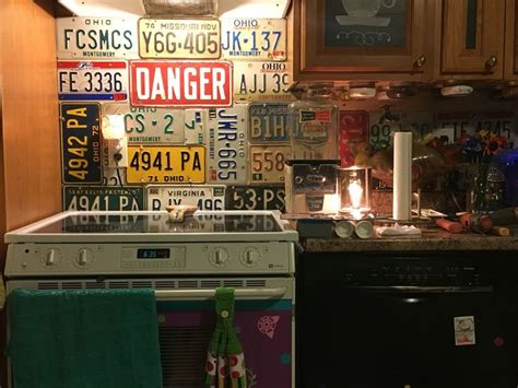 plate backsplash 39 best images about kitchen dining room on door handles license plates and
