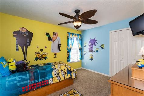 despicable me bedroom kids of all ages will love getting silly in this