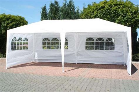 white gazebo for sale 3m x 6m white waterproof outdoor garden gazebo tent