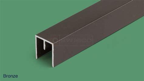 Sliding Screen Door Track Replacement by 80 110 6 Top Sliding Door Track Swisco