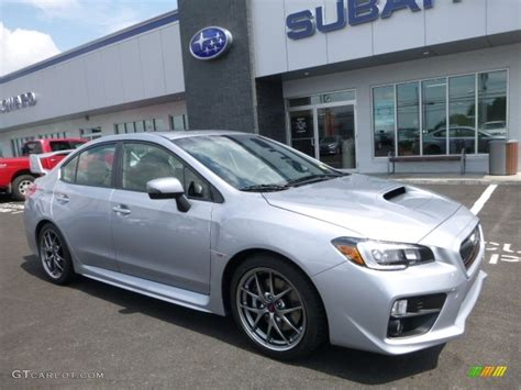 silver subaru wrx 2017 silver metallic subaru wrx sti limited 114691854