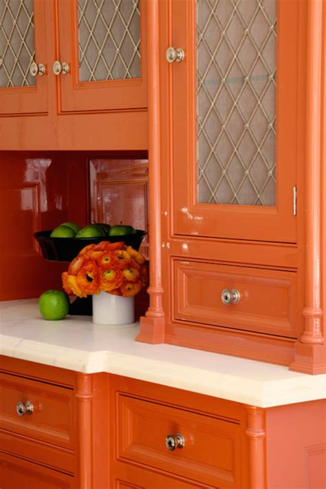orange kitchen cabinets orange kitchen cabinets contemporary kitchen bd home