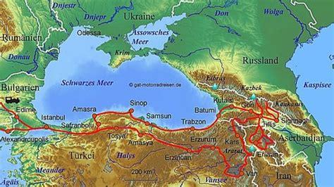 Motorradtouren Georgien by Motorradreise Kaukasus Gef 252 Hrte Motorradtouren