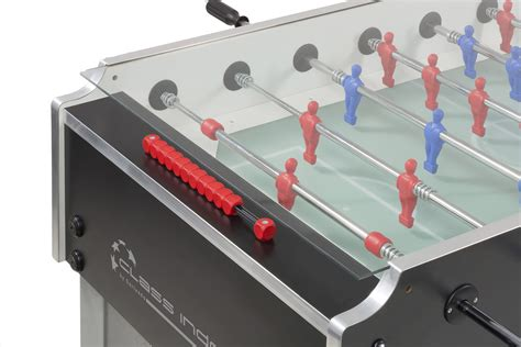 foosball table with glass top garlando class football table liberty