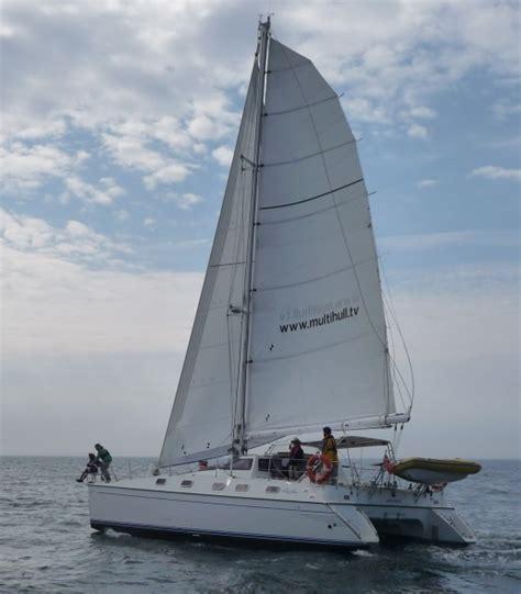 catamaran sailing courses uk mago reaching catamaran training multihull tuition rya