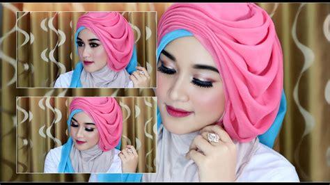 cara mekup buat pesta cara hijab segi empat wisuda wedding dengan beragam