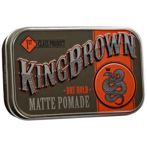 King Pomade X Hold king brown pomade