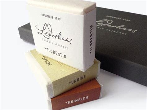 Handmade Soap Packaging - packaging lederhaas handmade soap package design one