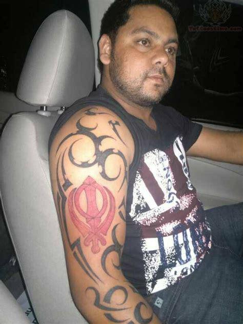 punjabi tattoos for men 35 most attractive punjabi khanda tattoos golfian