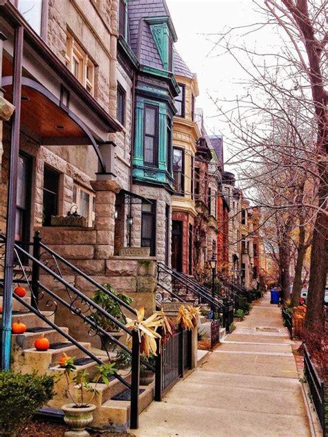 haircut chicago lincoln park brownstone buildings lincoln park 8 x 10 fine art