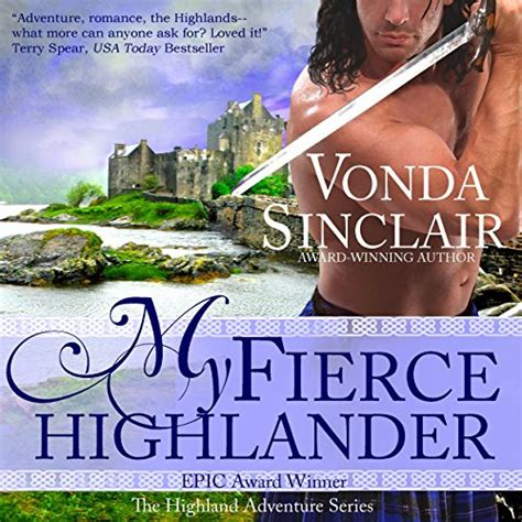 highlander entangled highland adventure volume 9 books vonda sinclair books biography
