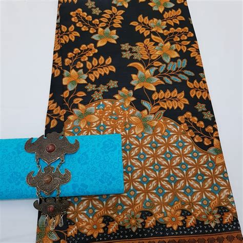 Kain Batik Printing Embos kain batik pekalongan batik printing motif daun