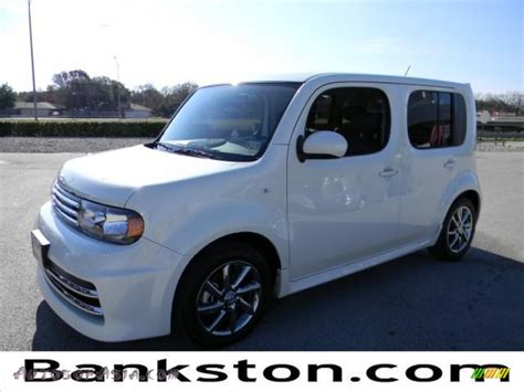 cube cars white 2011 nissan cube krom edition in white pearl 205634