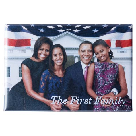 michelle obama family the obamas first family magnet is boxed with the white