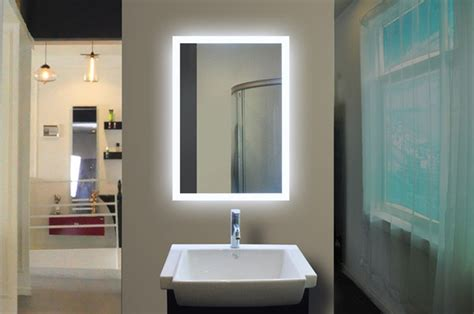 bathroom backlit mirror backlit mirror for bathrooms