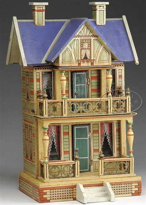 roof design doll house gorgeous blue roof dollhouse by gottschalk great color