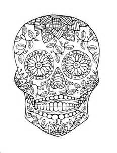skull coloring pages for adults coloring page original by