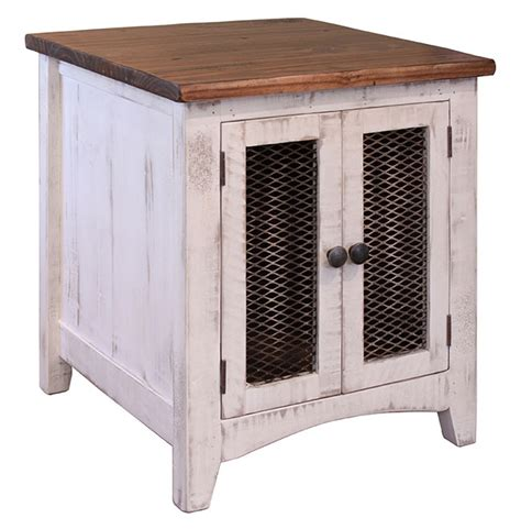 white end table white wash end table white end table white rustic end table