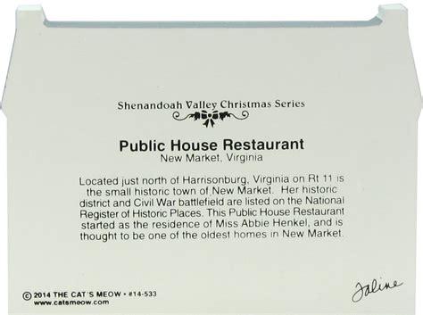 public house restaurant save 2 public house restaurant shenandoah valley christmas the cat s meow village