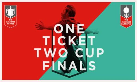 Fa Vase Tickets by Non League Finals Day Tickets Available Pitchero Non League