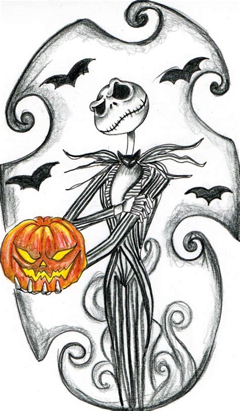 skellington design by jessicacreaser on deviantart