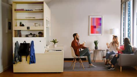 bedroom touch l robot furniture wants to make your apartment feel bigger