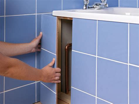tiled access panels bathroom how to apply a sealant to grout and tiled areas how tos