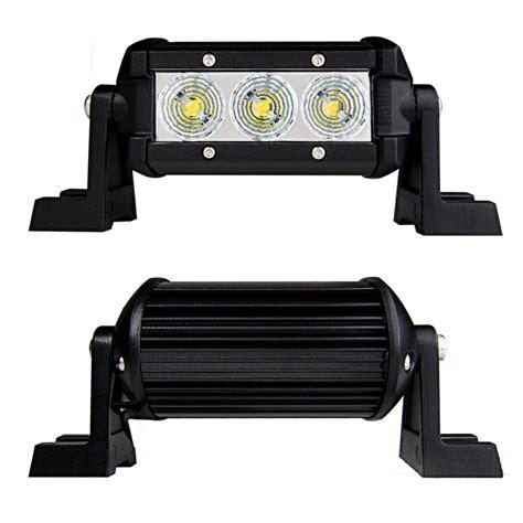 4 Led Light Bar by 4 Quot Compact Road Led Light Bar 9w 500 Lumens Led